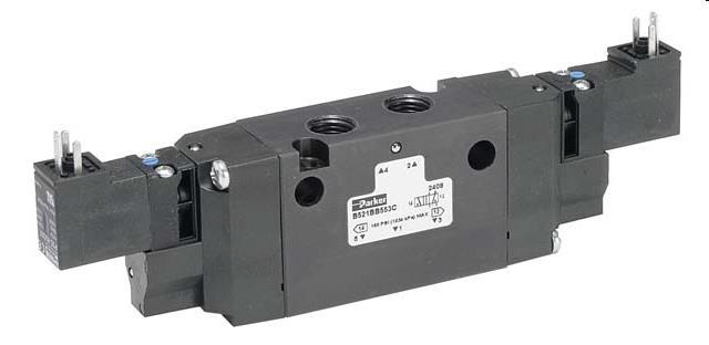 B5J6BCB49C 3/2 VALVE G1/4 EL24VDC-EL24VDC