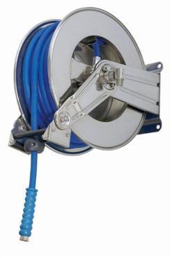 WATERSLANGHASPEL RVS304, OPEN MODEL, ZONDER SLANG; MAX 200BAR