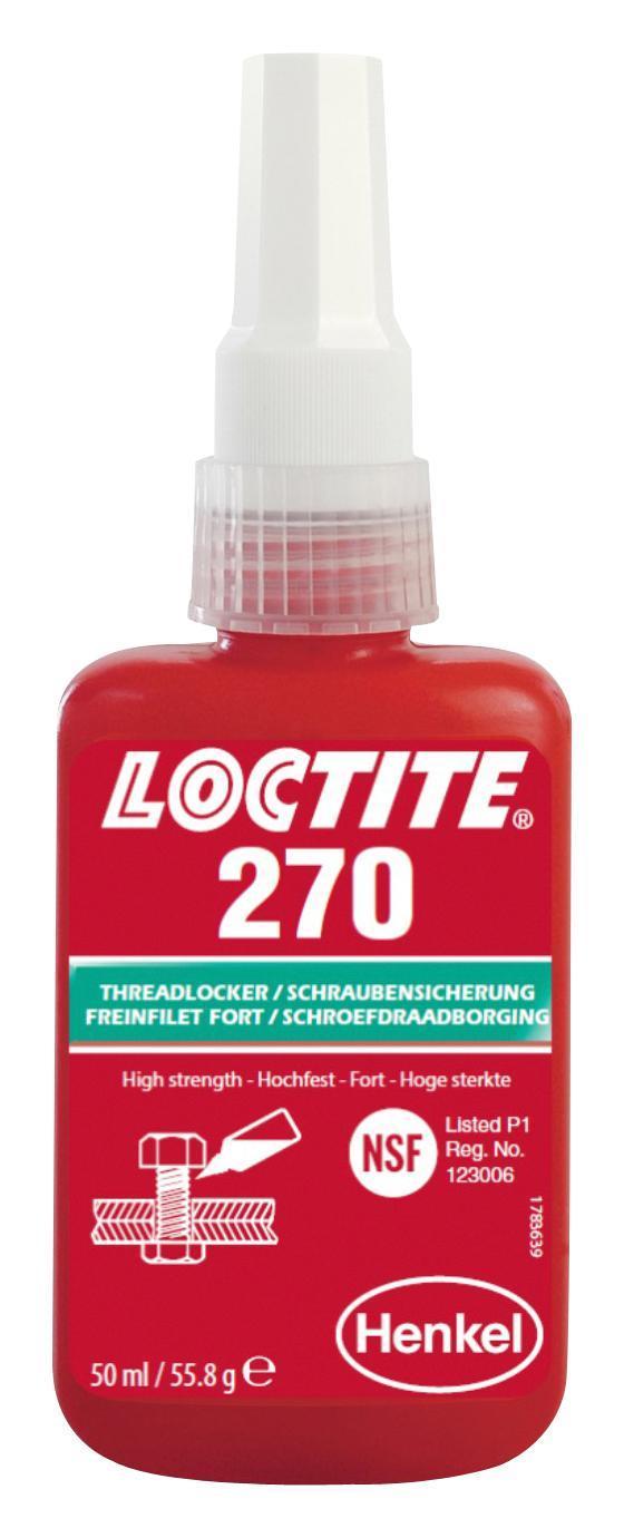 LOCTITE 270-50ML SCHROEFDRAADBORGING HOGE STERKTE