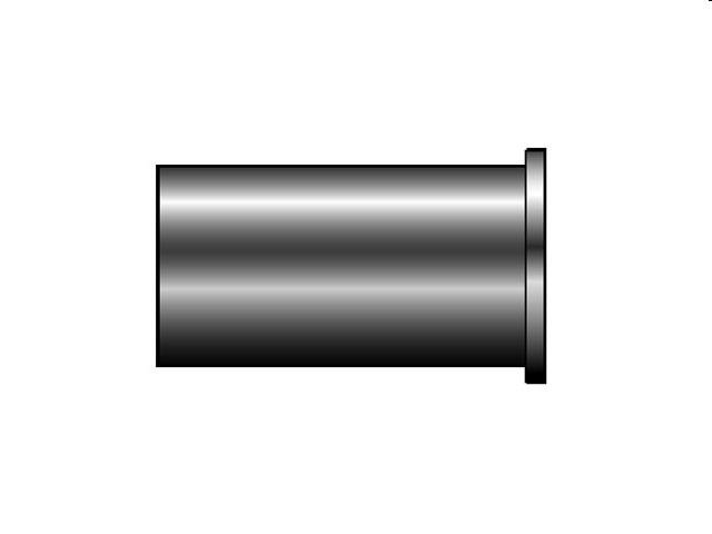 A-LOK STEUNHULS TIZ10 ( 8 ) ( SS-10M5-8M )